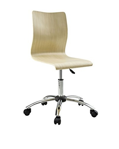 Modway Fashion Office Chair, Natural