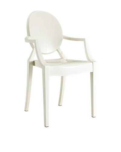 Modway Casper Dining Armchair, White