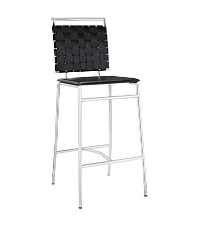 Modway Fuse Bar Stool, Black