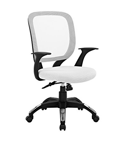 Modway Scope Office Chair, White
