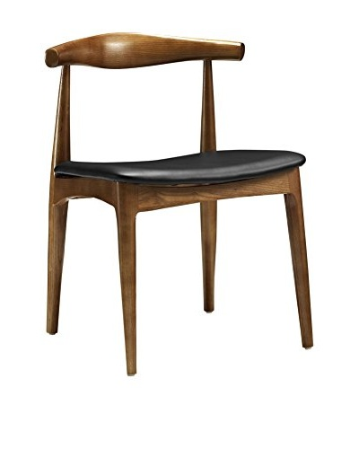 Modway Tracy Dining Side Chair, Black