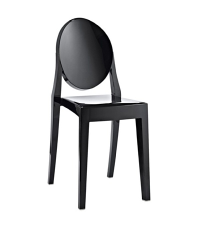 Modway Casper Dining Side Chair, Black