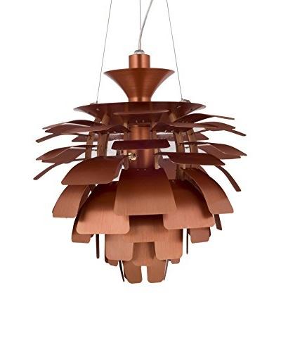 Modway Petal 24 Chandelier, Copper