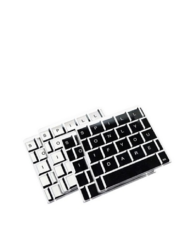 Molla Space Set of 4 Keyboard Coasters