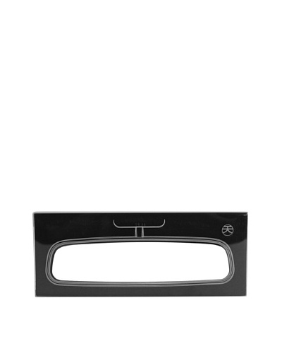 MollaSpace Rearview Mirror Notebook, Black