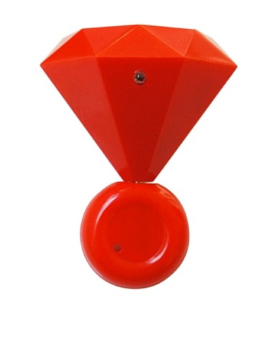 Mollaspace Diamond MP3 Speaker, Red