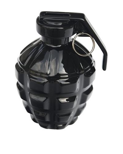 MollaSpace A Love Grenade Coin Bank, Black