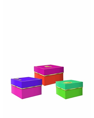 Molly & Rex Set of 3 Glamour Icons Storage Boxes