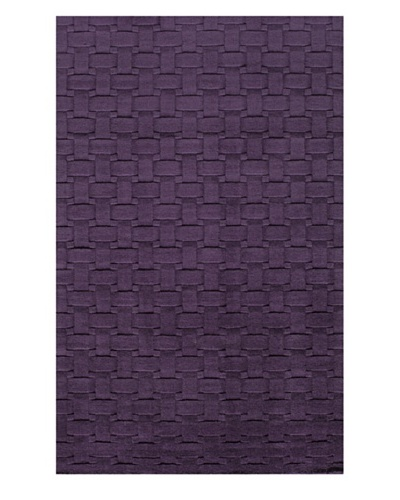 Momeni Metro Collection Rug, Plum, 3' 3 x 5' 3