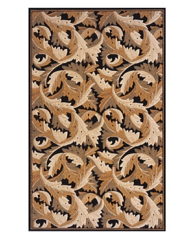 Momeni Art Nouveau Collection Rug [Black]