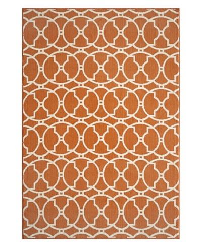 Momeni Baja Indoor/Outdoor Rug, Orange, 2' 3 x 4' 6