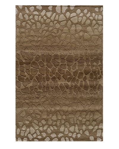 Momeni Delhi Collection Rug, Brown, 5' x 8'