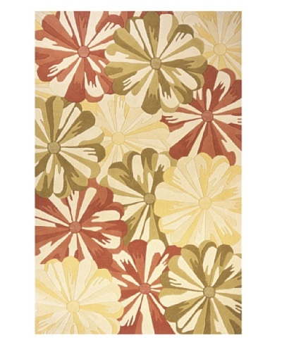 "Momeni Delhi Collection Rug, Gold, 3' 6"" x 5' 6"""