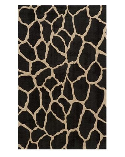 Momeni Deco Collection Rug, Charcoal, 5' x 8'