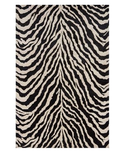 Momeni Serengeti Rug, Zebra, 8' x 11'