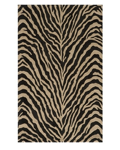 Momeni Deco Collection Rug, Charcoal, 5' x 8'