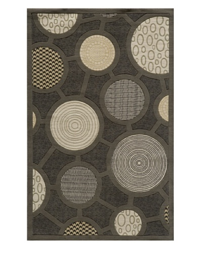 Momeni Elements Rug, Charcoal, 9' 6 x 13' 6