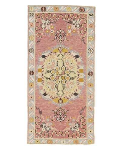 Momeni One-of-a-Kind Hand-Knotted Rug, Multi, 2′ 7″ x 5′ 3″