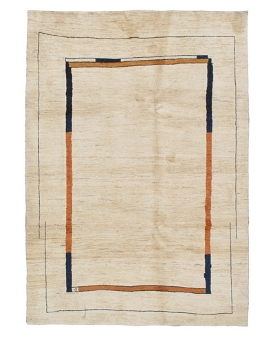 Momeni One of a Kind Authentic Persian Gabbeh Rug, 6' 4 x 8' 11