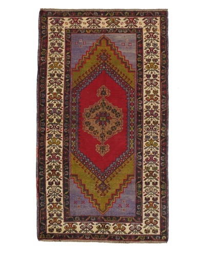 Momeni One of a Kind Authentic Turkish Anatolian Rug, 3' 7 x 6' 5