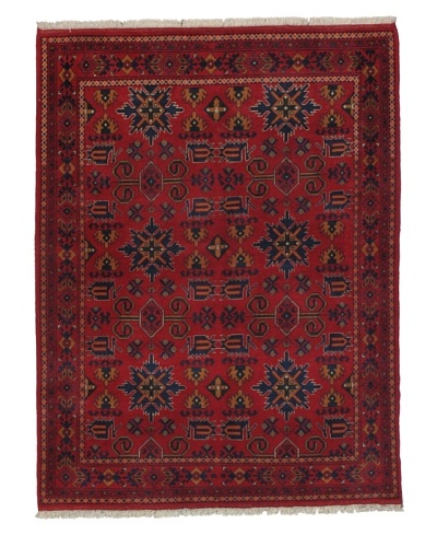 Momeni One of a Kind Pakistani Tribal Geometric Rug, 4' 10 x 6' 3