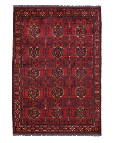 Momeni One of a Kind Pakistani Tribal Geometric Rug, 6' 8 x 9' 5