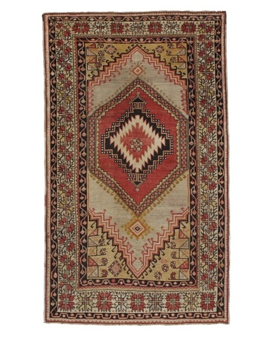 Momeni One of a Kind Authentic Turkish Anatolian Rug, 3' 10 x 6' 6