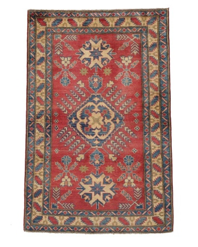 Momeni One of a Kind Pakistani Kazak Rug, 3' 10 x 5' 10
