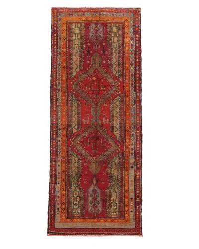 Momeni One of a Kind Authentic Turkish Anatolian Rug, 4' 1 x 10' 3 Runner