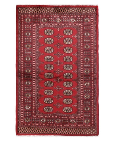 Momeni One of a Kind Bokhara Hand Knotted Rug, 4' 2 x 6' 7