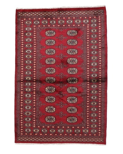 Momeni One of a Kind Bokhara Hand Knotted Rug, 4' x 5' 11