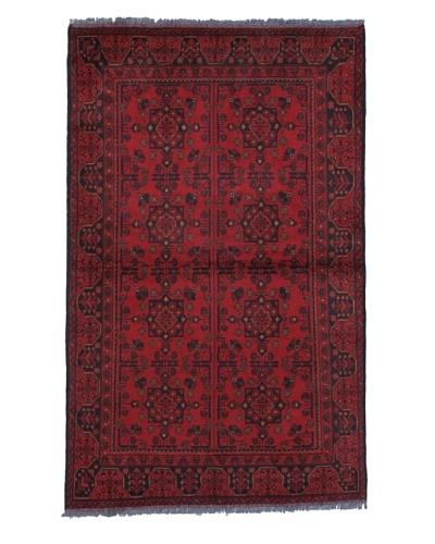 Momeni One of a Kind Pakistani Tribal Geometric Rug, 3' 11 x 6' 4