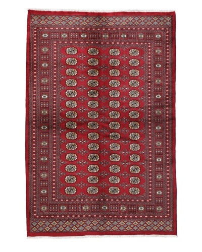 Momeni One of a Kind Bokhara Hand Knotted Rug, 6' 1 x 9' 2