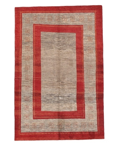 Momeni One of a Kind Authentic Persian Gabbeh Rug, 6' 6 x 9' 10