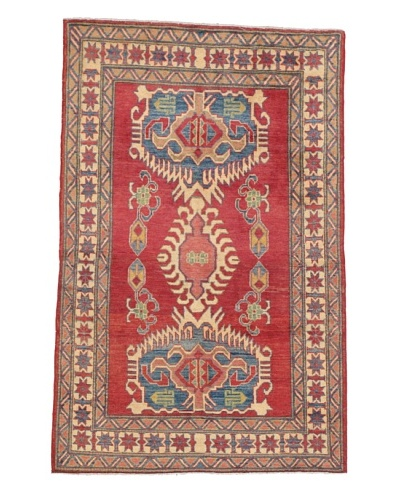 Momeni One of a Kind Pakistani Kazak Rug, 3' 6 x 5' 5