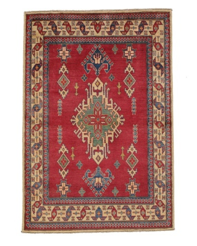 Momeni One of a Kind Pakistani Kazak Rug, 3' 11 x 5' 8