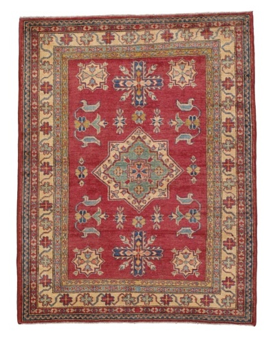 Momeni One of a Kind Pakistani Kazak Rug, 4' x 5' 2