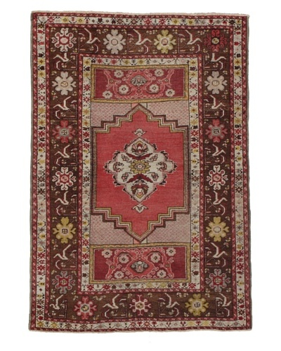 "Momeni One of a Kind Authentic Turkish Anatolian Rug, 3' 7"" x 5' 5"""