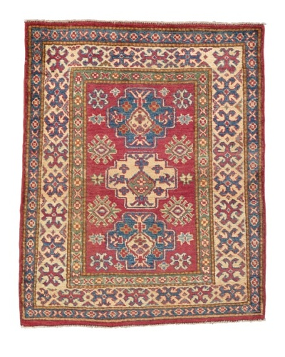 "Momeni One of a Kind Pakistani Kazak Rug, 3' 6"" x 4' 4"""
