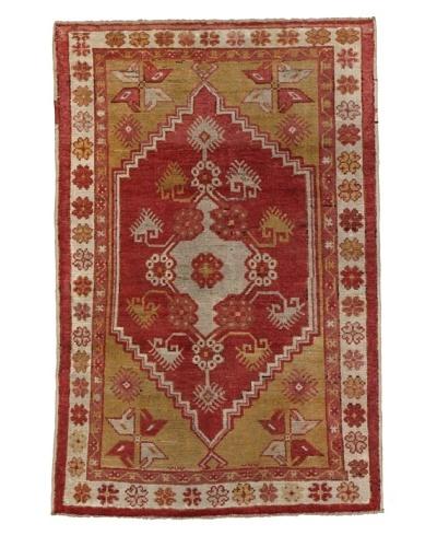 Momeni One of Kind Vintage Authentic Turkish Anatolian Rug, 3'2 x 5'9
