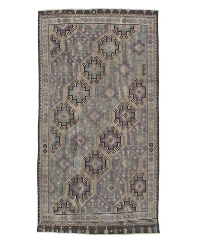 Momeni One of Kind Vintage Authentic Turkish Anatolian Rug, 5'9 x 10'8