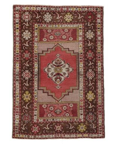 Momeni One of Kind Vintage Authentic Turkish Anatolian Rug, 3'7 x 5'5