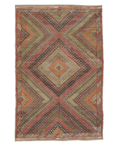 "Momeni One of Kind Vintage Authentic Turkish Anatolian Rug, 5'11"" x 9'1"""