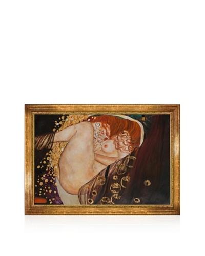 Gustav Klimt Danae Framed Oil Painting