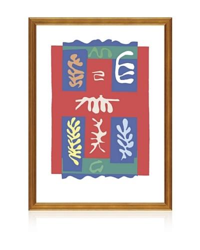 Matisse: Composition a la Croix Rouge, 1947