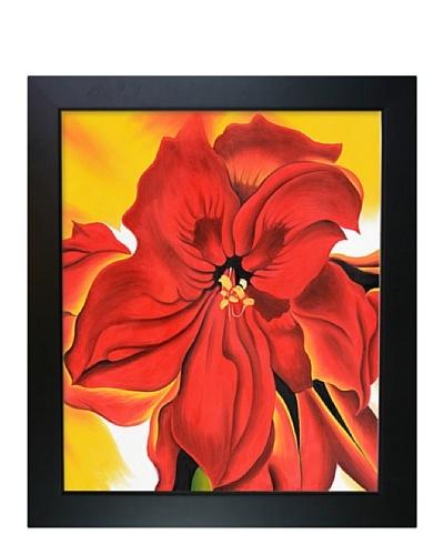 Georgia O'Keeffe: Red Amaryllis