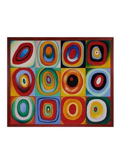 Kandinsky: Farbstudie Quadrate