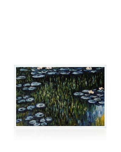 Claude Monet Nympheas Framed Oil Painting,  24 x 36