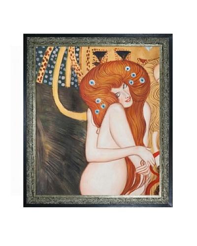 Gustav Klimt Beethoven Frieze Framed Oil Painting
