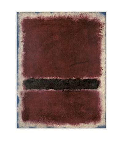 Mark Rothko: Untitled, 1963